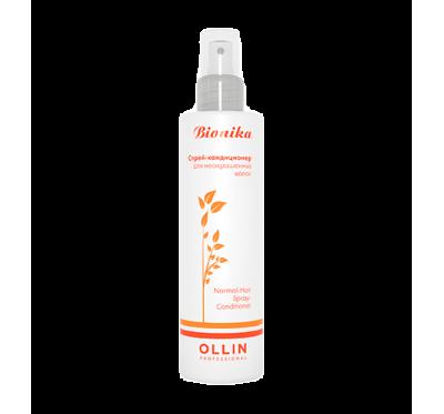 OLLIN BioNika Спрей-кондиционер для неокрашенных волос