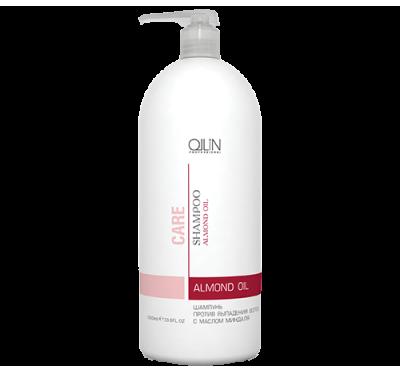 OLLIN CARE Шампунь против выпадения волос с маслом миндаля