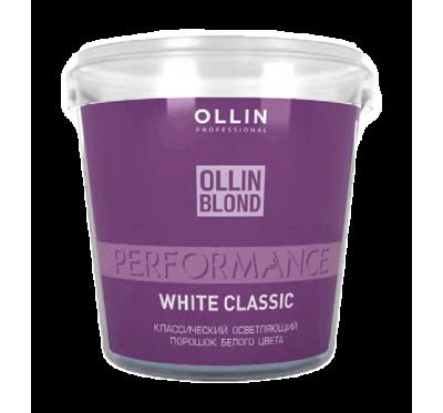 OLLIN PERFORMANCE Осветляющий порошок белого цвета