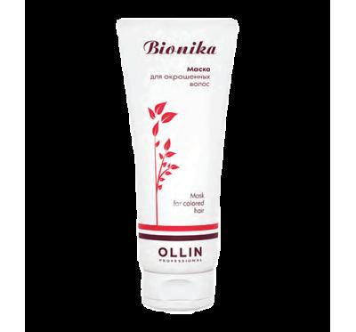 OLLIN BioNika Маска для окрашенных волос