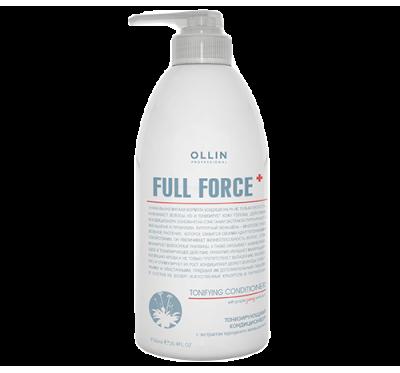 OLLIN FULL FORCE Тонизирующий кондиционер с экстрактом пурпурного женьшеня