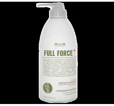 OLLIN FULL FORCE Очищающий шампунь с экстрактом бамбука