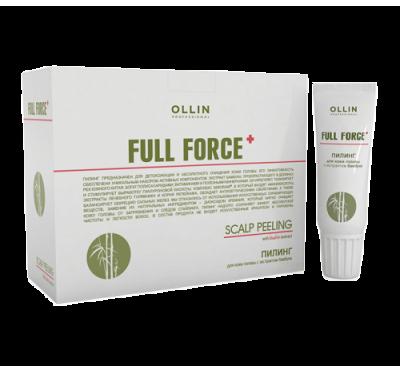 OLLIN FULL FORCE Пилинг для кожи головы с экстрактом бамбука