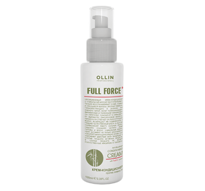 OLLIN FULL FORCE Крем-кондиционер против ломкости