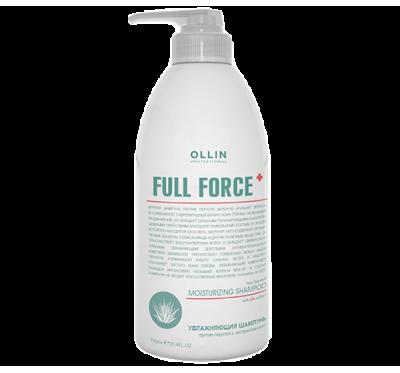 OLLIN FULL FORCE Увлажняющий шампунь против перхоти с экстрактом алоэ